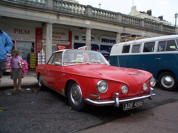 Red Karmann Ghia Razoredge