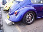 Back of a custom Beetle