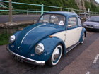 Blue and white two tone Beetle