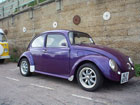Purple custom Beetle
