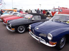 Row of Karmann Ghias