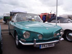 Stunning blue/green metallic Karmann Ghia Razoredge