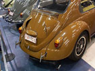 Custom curved vents in this Beetle's decklid