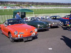 Row of Karmann Ghias including a Razoredge